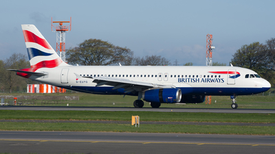 G-EUYG - Airbus A320-232 - British Airways