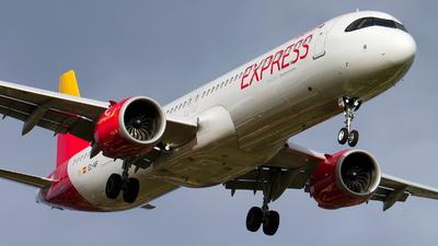 EC-NIF - Airbus A321-251NX - Iberia Express