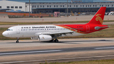 B-6807 - Airbus A320-232 - Shenzhen Airlines