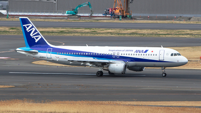 JA8654 - Airbus A320-211 - All Nippon Airways (ANA)