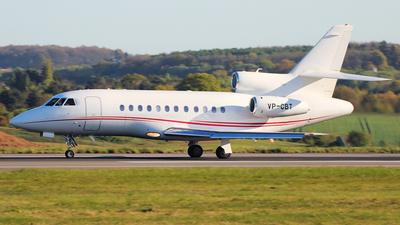 VP-CBT - Dassault Falcon 900DX - Private