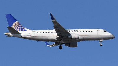 A picture of N724YX - Embraer E175LR - United Airlines - © DJ Reed - OPShots Photo Team