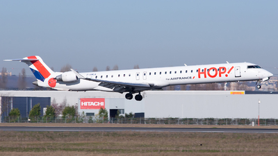 F-HMLK - Bombardier CRJ-1000 - HOP! for Air France