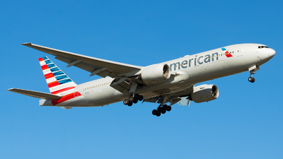 A picture of N761AJ - Boeing 777223(ER) - American Airlines - © Yishai Howe