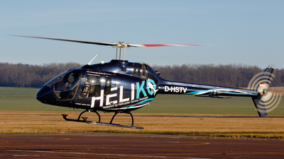 D-HSTV - Bell 505 Jet Ranger X - Helicopter Service Thueringen (HST)