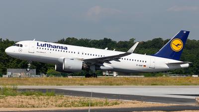 A picture of DAINF - Airbus A320271N - Lufthansa - © Markus Altmann