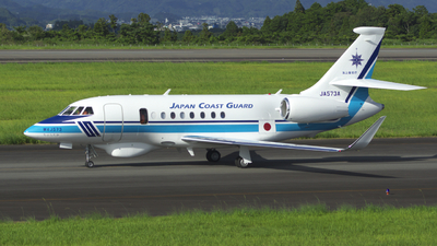 JA573A - Dassault Falcon 2000MSA - Japan - Coast Guard