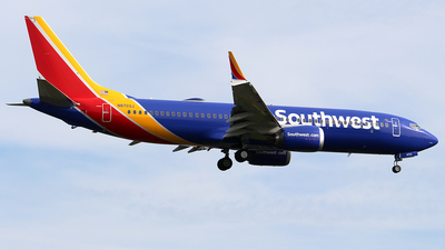 N8703J - Boeing 737-8 MAX - Southwest Airlines
