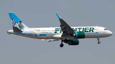 N344FR - Airbus A320-251N - Frontier Airlines