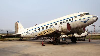 301 - Lisunov Li-2T - Civil Aviation Administration of China (CAAC)