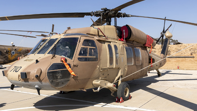 710 - Sikorsky UH-60A Yanshuf 3   - Israel - Air Force