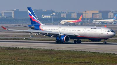 VQ-BQZ - Airbus A330-343 - Aeroflot
