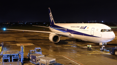 JA608A - Boeing 767-381(ER) - All Nippon Airways (Air Japan)