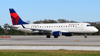 A picture of N236JQ - Embraer E175LR - Delta Air Lines - © Doug Marsh