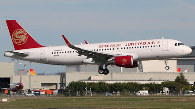 F-WWDZ - Airbus A320-214 - Juneyao Airlines