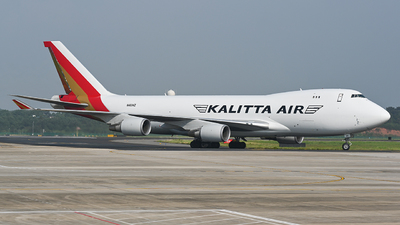 A picture of N403KZ - Boeing 747481F - Kalitta Air - © Tim Boeing ZGHA