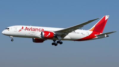 A picture of N780AV - Boeing 7878 Dreamliner - Avianca - © Carlos Barcelo