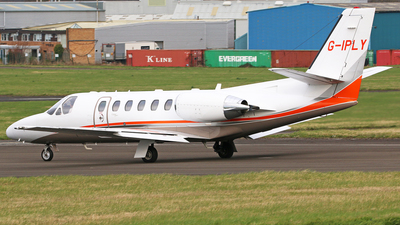 G-IPLY - Cessna 550B Citation Bravo - Private