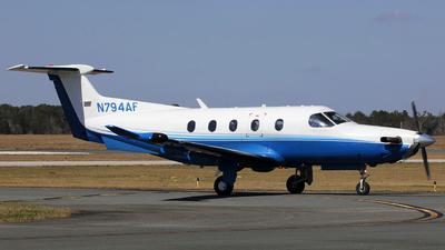 A picture of N794AF - Pilatus PC12/47 - PlaneSense - © Orlando Suarez