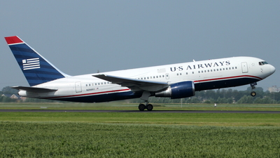 N256AY - Boeing 767-2B7(ER) - US Airways