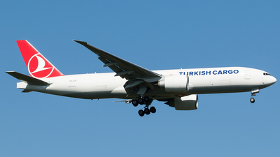 A picture of TCLJT - Boeing 777F - Turkish Airlines - © Teemu Pesonen