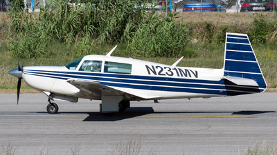 N231MV - Mooney M20K - Private