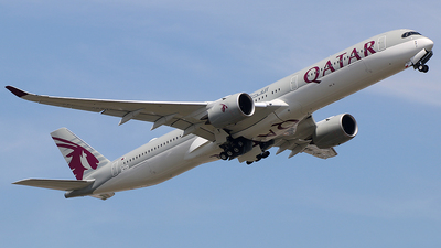 F-WZGY - Airbus A350-1041 - Qatar Airways
