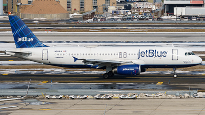 A picture of N508JL - Airbus A320232 - JetBlue Airways - © ne.planespotter