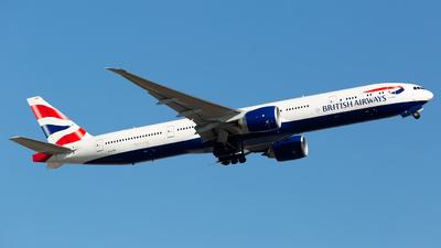 A picture of GSTBP - Boeing 777300(ER) - British Airways - © Chris Pitchacaren