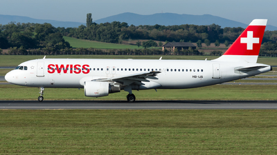 A picture of HBIJS - Airbus A320214 - Swiss - © Gerhard Zant