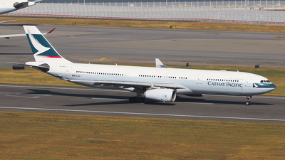 B-LAH - Airbus A330-343 - Cathay Pacific Airways