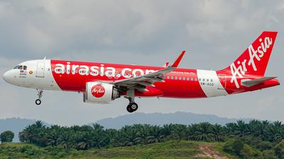9M-AGD - Airbus A320-251N - AirAsia