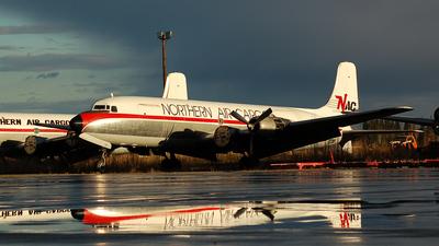 N1377K - Douglas C-118A Liftmaster - Northern Air Cargo (NAC)