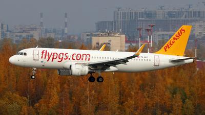 TC-DCC - Airbus A320-214 - Pegasus Airlines
