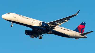 A picture of N390DN - Airbus A321211 - Delta Air Lines - © Yan777