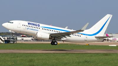 D-AHXJ - Boeing 737-7K5 - Wings of Lebanon