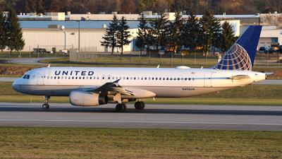 N496UA - Airbus A320-232 - United Airlines