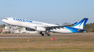 F-HZEN - Airbus A330-343 - Corsair International