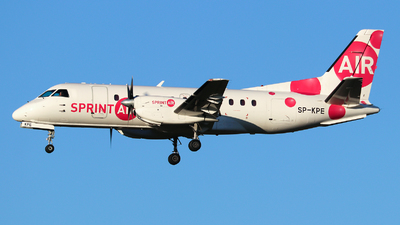 A picture of SPKPE - Saab 340A - Sprint Air - © Lars Rohde