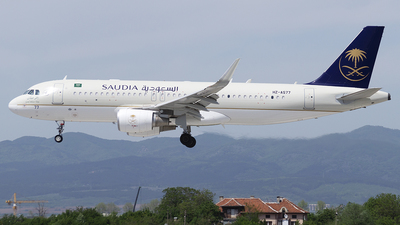 A picture of HZAS77 - Airbus A320214 - Saudia - © Stefan pechev