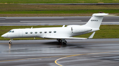 N969GA - Gulfstream G550 - Private