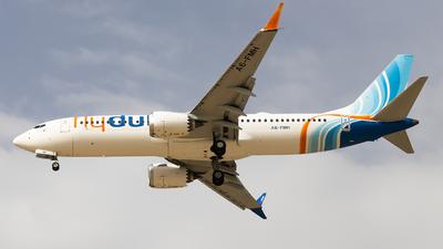 A picture of A6FMH - Boeing 737 MAX 8 - FlyDubai - © Awais Khan Achakzai