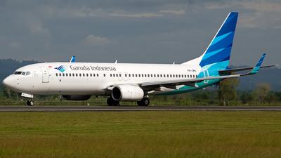 PK-GMU - Boeing 737-8U3 - Garuda Indonesia