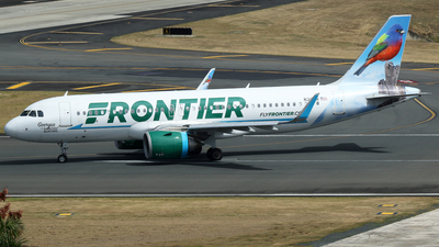 A picture of N317FR - Airbus A320251N - Frontier Airlines - © Carlos Vaz