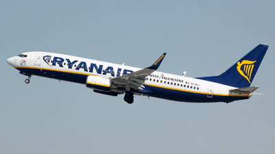EI-EKJ - Boeing 737-8AS - Ryanair
