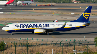 A picture of EIDWF - Boeing 7378AS - Ryanair - © Enrique Rubira