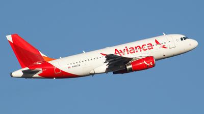 N480TA - Airbus A319-132 - Avianca
