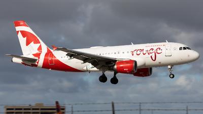C-GBIJ - Airbus A319-114 - Air Canada Rouge
