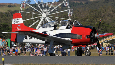 VH-FNO - North American T-28B Trojan - Bennet Aviation