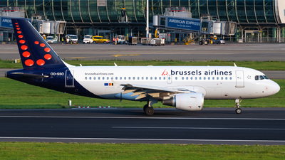 A picture of OOSSO - Airbus A319111 - Brussels Airlines - © Gaetan De Meyer - DHL Photographer